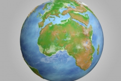 displacement map world